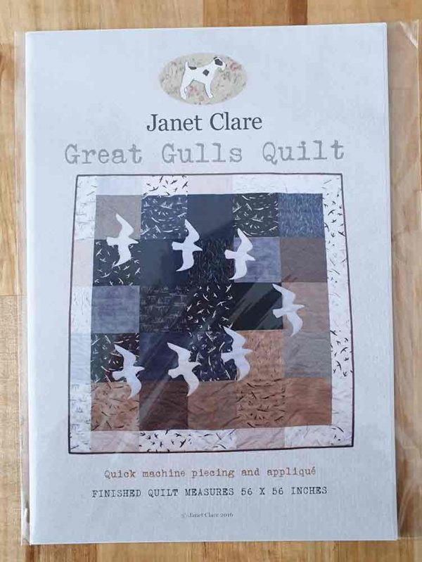 Janet Clare quilt pattern: Great Gulls Quilt
