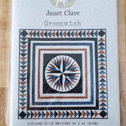 Janet Clare Quilt pattern: Greenwich