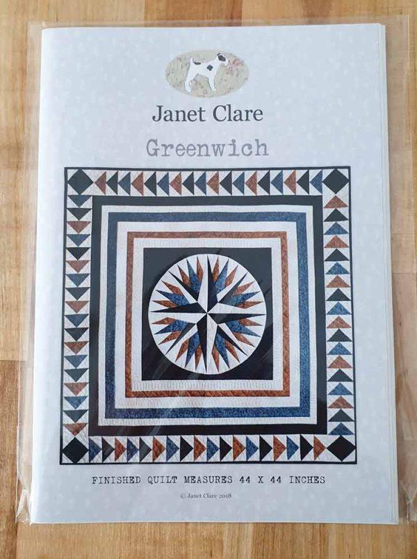 Janet Clare Quilt pattern: Greenwich