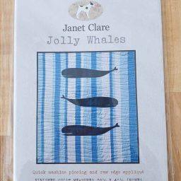 Janet Clare Quilt Pattern: Jolly Whales