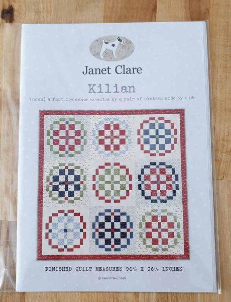 Janet Clare quilt pattern: Killian
