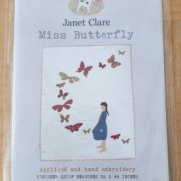 Janet Clare Quilt pattern: Miss Butterfly