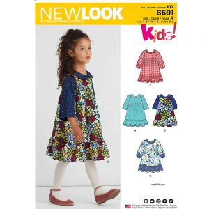 New Look Pattern 6591 Child's Dress