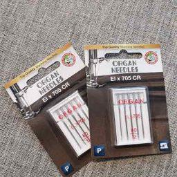 Organ brand Overlock/Coverstitch Needles (80/12)