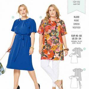 Burda B6305 Women's top and dress