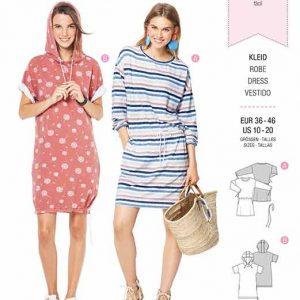 Burda B6310 Misses' shirt dress