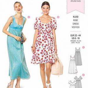Burda B6312 Misses' ballet neckline dress