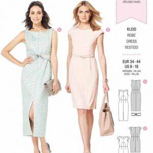 Burda B6320 Misses' sheath dress