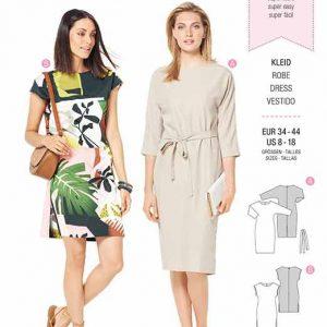 Burda B6322 Misses' dress