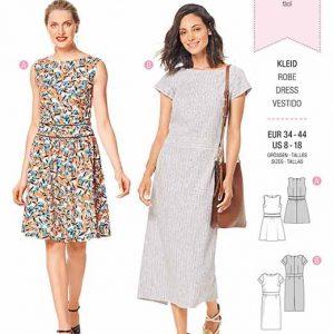 Burda B6339 Misses' dress with waistband