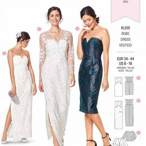 Burda B6346 Misses' special occasion dress