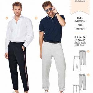 Burda B6350 Men's pants
