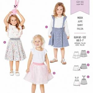 Burda B9319 Child's pinafore skirt
