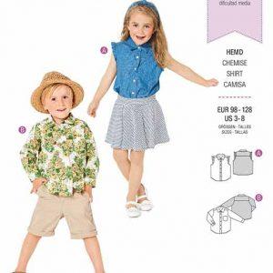 Burda B9321 Child's sleeveless top