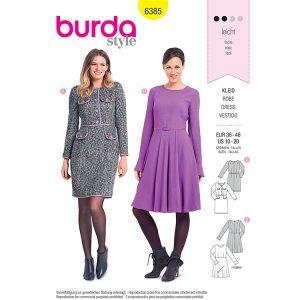 Burda B6385 Women's Dresses