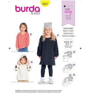 Burda B9331 Child's Sportswear