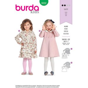 Burda B9332 Child's Dress