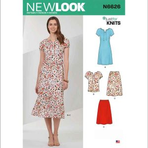 NEW LOOK SEWING PATTERN N6626 MISSES' SPORTSWEAR