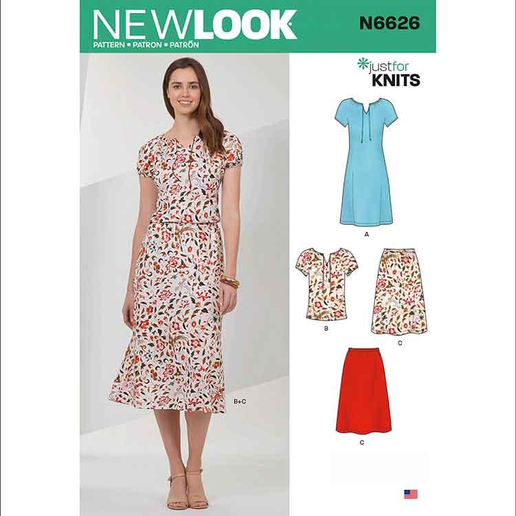 NEW LOOK SEWING PATTERN N6626 MISSES' SPORTSWEAR