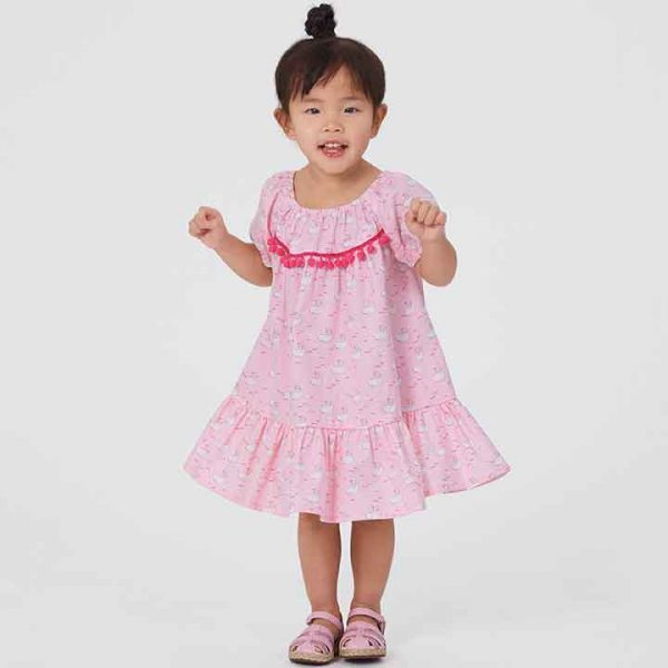 NEW LOOK SEWING PATTERN N6629 TODDLER'S DRESSES
