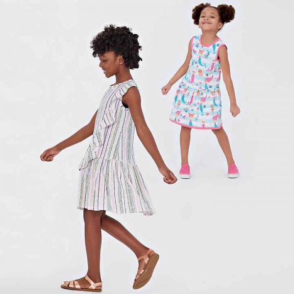 NEW LOOK SEWING PATTERN N6630 CHILDREN'S AND GIRLS' DRESSES