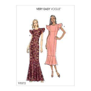 V9372 Misses'/Misses' Petite Special Occasion Dress