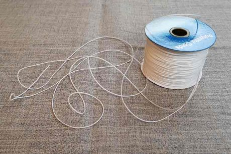 1mm polyester cord (for Roman blinds etc)