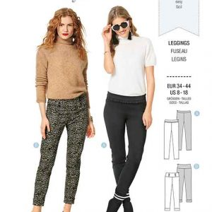 Burda B6251, Misses' / women's pants