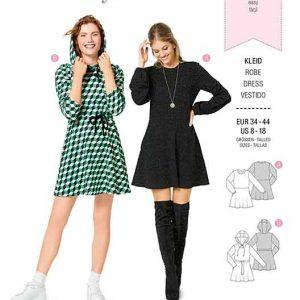 Burda B6264, MISSES' / WOMEN'S SHIRT DRESS