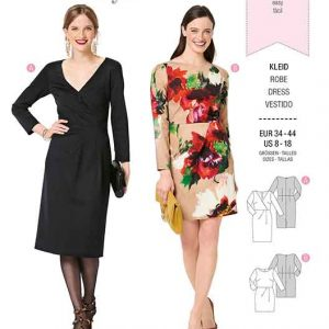 Burda B6287, MISSES' / WOMEN'S SHIRT DRESS