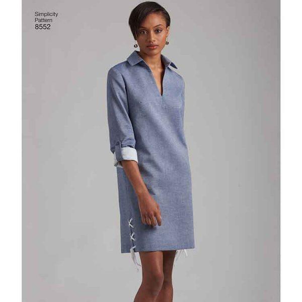 Simplicity 8552, Women's / Petite Women's  Dress or Tunic