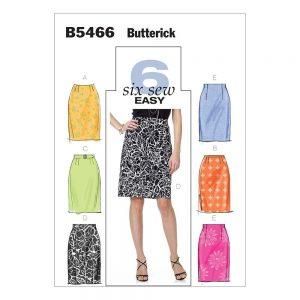B5466 Misses' Skirt and Belt