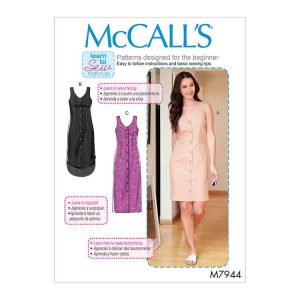 M7944 Misses'/Women's Dresses