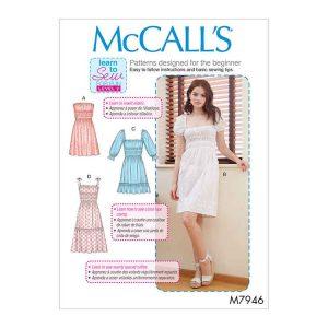 M7946 Misses' Dresses