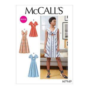 M7949 Misses'/Misses' Petite Dresses