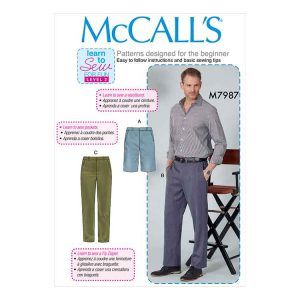 M7987 Men's Shorts and Pants