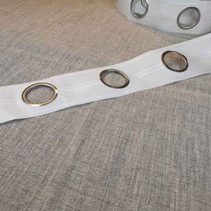 80mm eyelet tape (for use with eyelet rings)