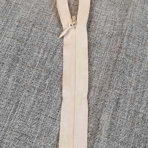 "Economy concealed/invisible zips (8"", cream)"
