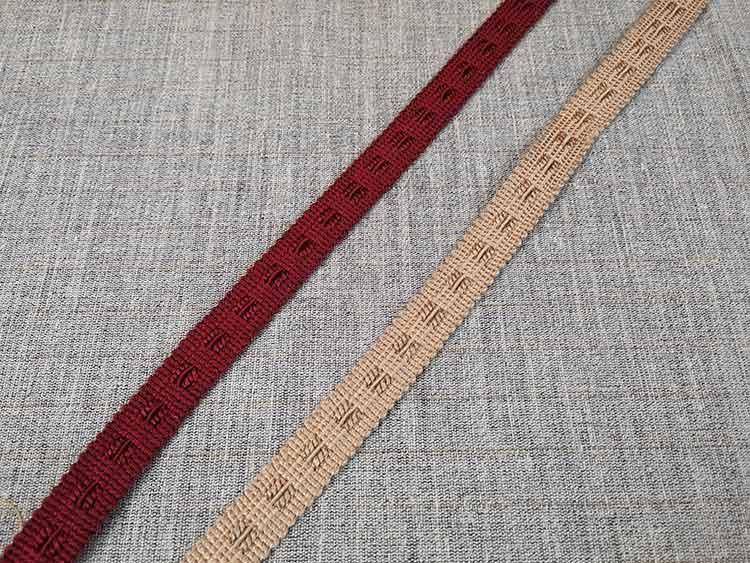 15mm furnishing braid trim