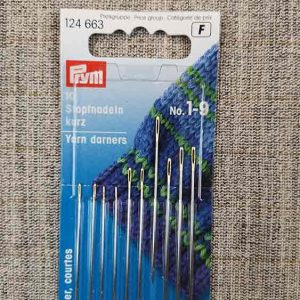 Prym sewing needles, darners 1-9