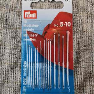 Prym sewing needles, millinery 5-10