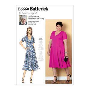 B6660 Misses'/Women's Dress