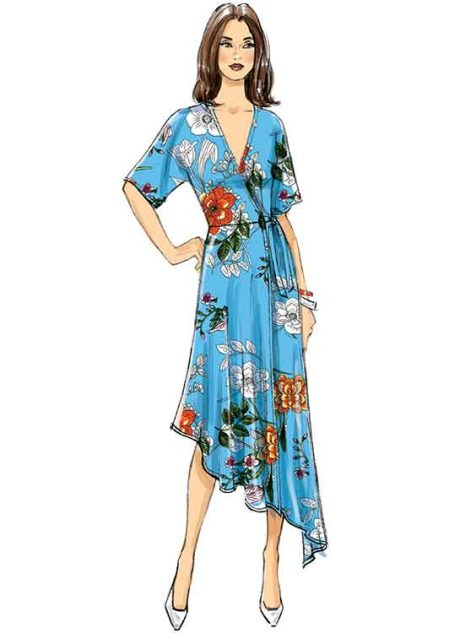 B6675 Misses'/Women's Dress