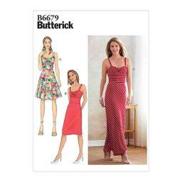 B6679 Misses' Dress