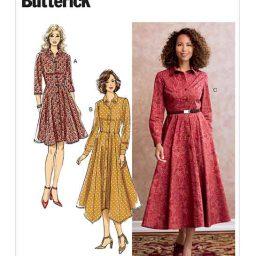 B6702 Misses' Dress