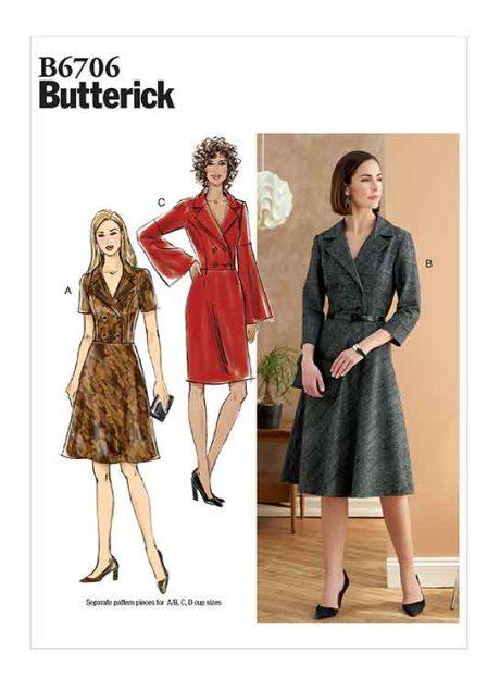 B6706 Misses' Dress