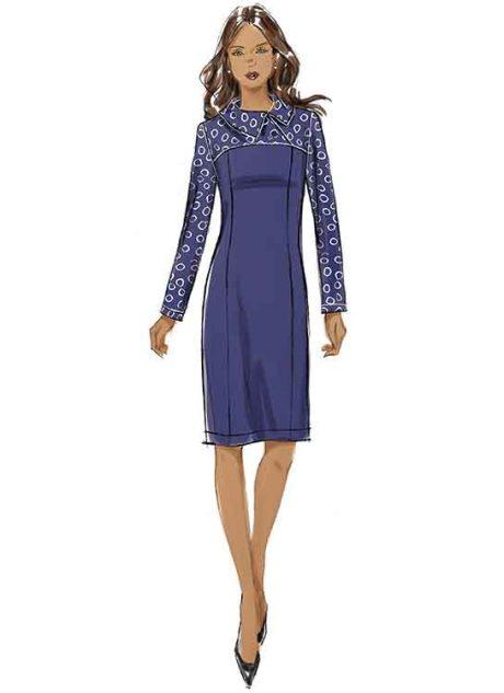 B6707 Misses'/Women's Dress