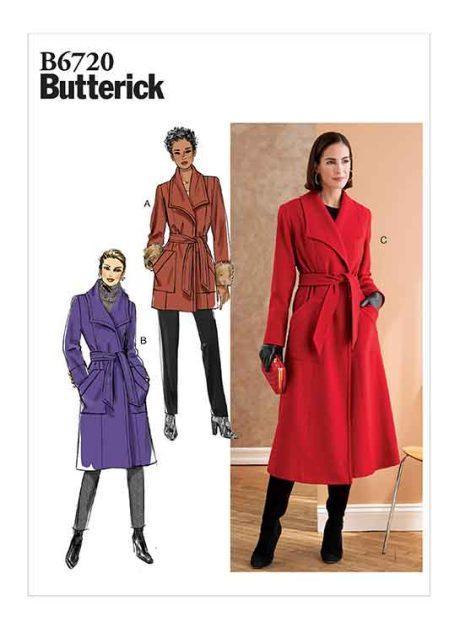 B6720 Misses'/Misses' Petite Outerwear & Belt