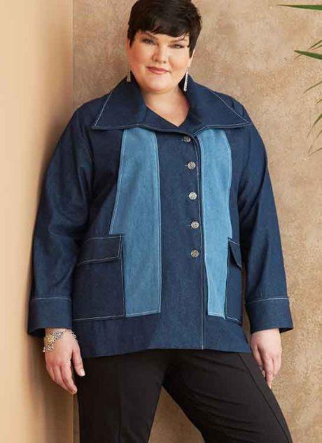 B6721 Misses'/Women's Outerwear