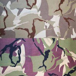 100% Cotton Camouflage Twill